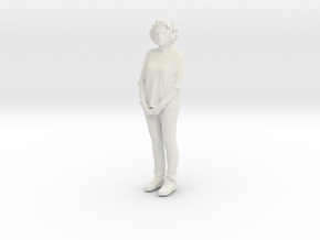 Printle C Femme 733 - 1/24 - wob in White Natural Versatile Plastic