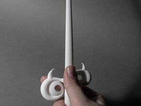 Windwaker Wand Small Old in White Strong & Flexible