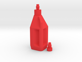 THC'S 1:8 SCALE RACING JUG in Red Processed Versatile Plastic: 1:8