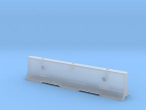 "12'6"" K-Rail Concrete Barrier in Smooth Fine Detail Plastic"