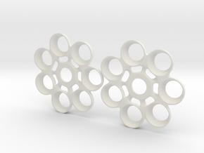 TrekrTurboSpin1 in White Natural Versatile Plastic