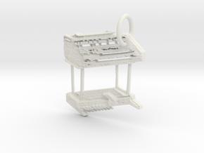 Wersi Helios W2T Organ in White Natural Versatile Plastic