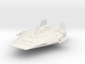 Rx-1-a-wing in White Natural Versatile Plastic