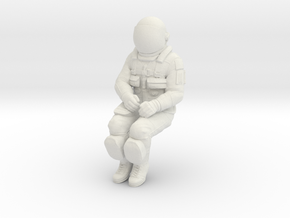 NASA Space Shuttle Crew Mission Specialist in White Natural Versatile Plastic: 1:32