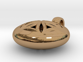 NUCLEO in Polished Brass