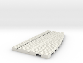 P-165stw-lh-cross-straight-250r-100-live-3a in White Natural Versatile Plastic