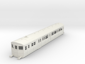 O-87-gwr-diag-q-steam-railmotor1 in White Natural Versatile Plastic