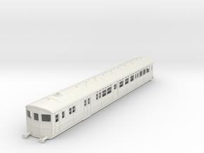 O-87-gwr-diag-r-steam-railmotor1 in White Natural Versatile Plastic