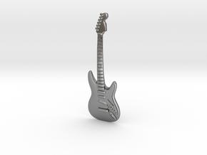 Guitar in Natural Silver: Medium