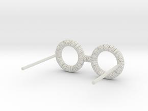 Eyewear 1 Honeycomb Wire in White Natural Versatile Plastic