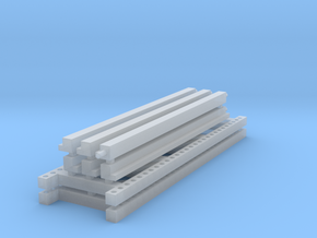 1/64 3 High 8ft Pallet Rack  in Frosted Ultra Detail