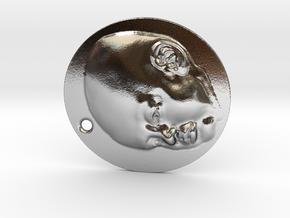 VytenisSTL in Polished Silver