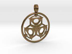 ELEMENT THREE in Natural Bronze