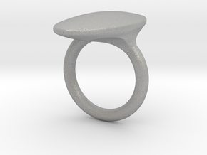 OvalRing - SIZE 10 US in Aluminum: 10 / 61.5