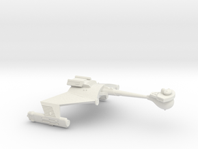 3125 Scale Klingon D6S Heavy Scout Cruiser WEM in White Natural Versatile Plastic