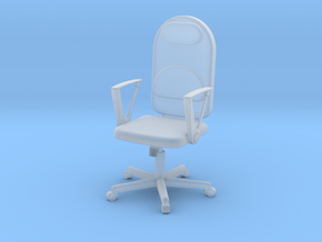 Conference Room Chair HiRez (Star Trek Voyager), 1 in Smooth Fine Detail Plastic