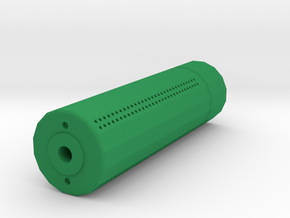 Sydex Airsoft Silencer (14mm Self-Cutting Thread) in Green Processed Versatile Plastic