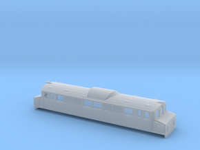 Swedish SJ electric locomotive type Mg - N-scale in Smooth Fine Detail Plastic