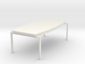 Conference Table HiRez (Star Trek Enterprise), 1/3 in White Natural Versatile Plastic