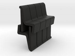 8 Conference Room Chairs (Star Trek Enterprise) 1/ in Black Natural Versatile Plastic