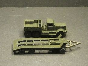 1/120 US Tank recovery set M19 in White Natural Versatile Plastic