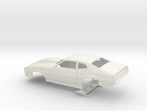 1/24 Pro Mod Maverick W Large Cowl in White Natural Versatile Plastic