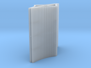 1:200 Blast Fence 4x50mm in Smooth Fine Detail Plastic