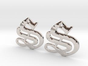 SISU (precious metal earrings) in Platinum