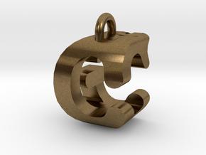 3D-Initial-CG in Raw Bronze