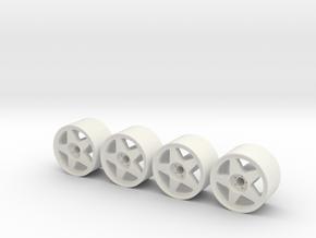 Regamaster EVO V3 Square in White Natural Versatile Plastic