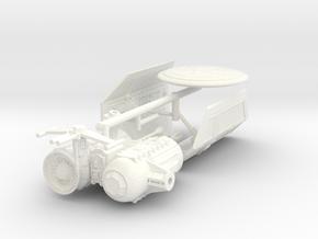 TIE Seeker Mk4 in White Processed Versatile Plastic