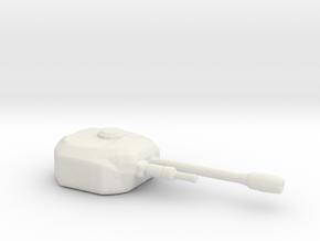 FireTurret in White Natural Versatile Plastic