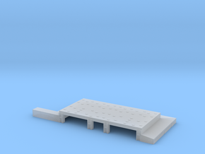 1/700 Light Jet Aircraft Hanger in Smooth Fine Detail Plastic