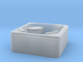 Jacuzzi Outdoor Hot Tub OO-gauge 1-76.2 in Smooth Fine Detail Plastic
