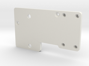 Controller Mount V4 in White Natural Versatile Plastic