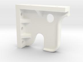 Juliet B-4 Right Side Crosshead Guide Hanger in White Processed Versatile Plastic