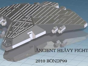 Ancient Heavy Fighter in White Natural Versatile Plastic