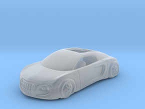 Audi Concept Car 1:87 HO in Smooth Fine Detail Plastic