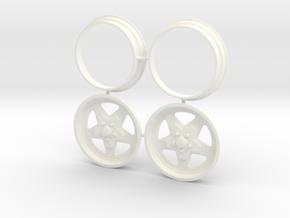 Weld Prostar Front 1/12 in White Processed Versatile Plastic