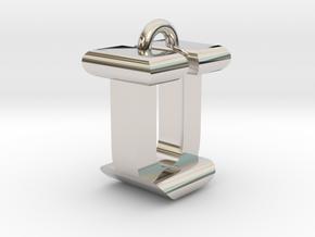 3D-Initial-IU in Platinum