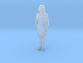 Printle C Femme 728 - 1/76 - wob in Smooth Fine Detail Plastic