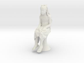 Printle C Kid 128 - 1/24 - wob in White Natural Versatile Plastic