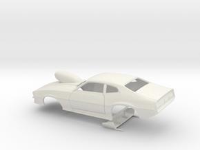 1/12 Pro Mod Maverick W Sm Cowl Scoop in White Natural Versatile Plastic