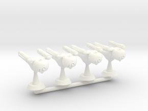 Pegasus Squadron - 1:7000 in White Strong & Flexible Polished