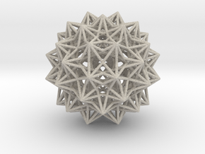 Compound of 20 Octahedra in Natural Sandstone