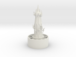 1/700 Hub Tower in White Natural Versatile Plastic