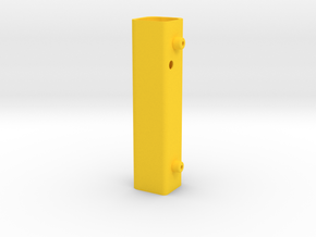 RASPBERRY UMPC BATTERY PACK in Yellow Processed Versatile Plastic