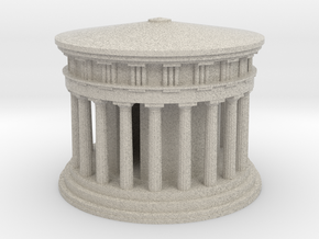 Athena Temple in Delphi in Natural Sandstone: Medium