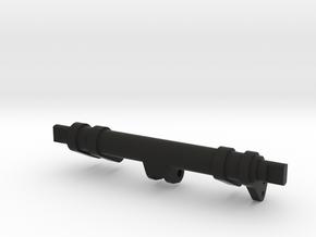 Avro Lanc FN20 Rear Turret Axle in Black Natural Versatile Plastic