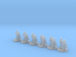 10mm WW2 German MG team in Smoothest Fine Detail Plastic